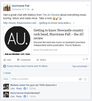 Hurricane Fall